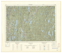 National Topographic Series (scale 1:125,000) : Maniwaki, Quebec [sheet 31J/SW]