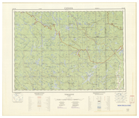 National Topographic Series (scale 1:125,000) : Tomasine, Quebec [sheet 31K/NE]