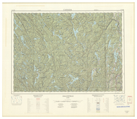 National Topographic Series (scale 1:125,000) : Gracefield, Quebec [sheet 31K/SE]