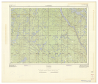 National Topographic Series (scale 1:125,000) : Tomiko, Ontario-Quebec [sheet 31L/NW]
