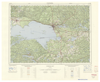 National Topographic Series (scale 1:125,000) : North Bay, Ontario [sheet 31L/SW]