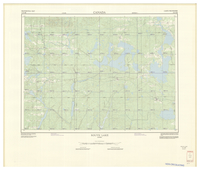 National Topographic Series (scale 1:125,000) : Rouyn Lake, Quebec [sheet 32D/SE]