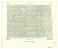 National Topographic Series (scale 1:125,000) : Belleterre, Quebec [sheet 31M/SE]