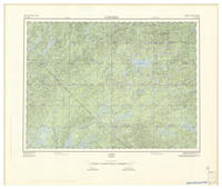 National Topographic Series (scale 1:125,000) : Vimy, Quebec [sheet 31N/NE]