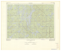 National Topographic Series (scale 1:125,000) : Cabonga Reservoir, Quebec [sheet 31N/SE]