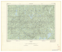 National Topographic Series (scale 1:125,000) : Parent, Quebec [sheet 31O/NE]