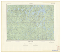National Topographic Series (scale 1:125,000) : Kempt Lake, Quebec [sheet 31O/SE]