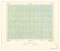 National Topographic Series (scale 1:125,000) : Oskelaneo, Quebec [sheet 32B/SW]