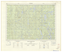 National Topographic Series (scale 1:125,000) : Maple Mountain, Ontario [sheet 41P/SE]