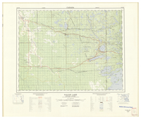 National Topographic Series (scale 1:125,000) : Falcon Lake, Manitoba-Ontario [sheet 52E/NW]