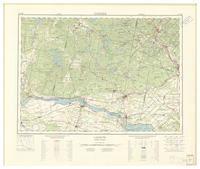 National Topographic Series (scale 1:125,000) : Lachute, Quebec-Ontario [sheet 31G/NE]