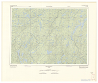 National Topographic Series (scale 1:125,000) : Petawaga, Quebec [sheet 31O/SW]