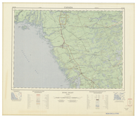 National Topographic Series (scale 1:125,000) : Byng Inlet, Ontario [sheet 41H/NE]