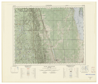 National Topographic Series (scale 1:125,000) : Duck Mountain, Manitoba [sheet 62N/NE]