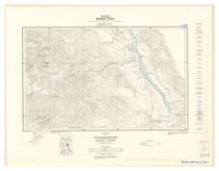 National Topographic Series (scale 1:125,000) : Windermere, British Columbia, Map 165A [sheet 82K/NE,SE]