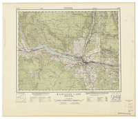 National Topographic Series (scale 1:125,000) : Kamloops Lake, British Columbia [sheet 92I/NE]