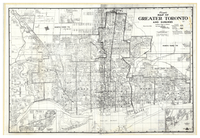 Lloyd's map of Greater Toronto and suburbs