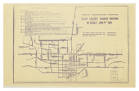 Toronto Transit Commission : daily except Sunday routing, in effect Jan 21st 1924.