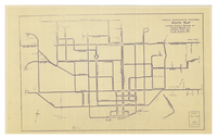 Toronto Transportation Commission : route map showing normal routing of Toronto Railway Co. & Toronto Civic Rly. as on Aug 31st