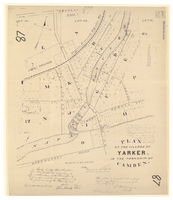Plan of the village of Yarker in the Township of Camden