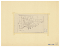 [Metropolitan Toronto : census tracts (outline), 1966]