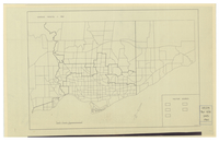[Metropolitan Toronto : census tracts (outline), 1961]