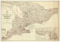 Electoral map of the Province of Ontario : map no. 33a [1951]