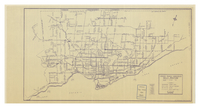 Toronto Transit Commission daily routing : as of October 1965