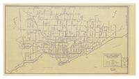Toronto Transit Commission daily routing : as of April 1st. 1966