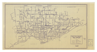 Toronto Transit Commission daily routing : as of October 1968