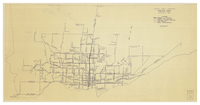 Toronto Transit Commission route map : as of July 1, 1954