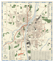 Map and street guide : Welland, Ontario, Canada