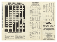Metropolitan Toronto Public Transportation Service : route map [back]