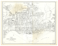 Plan of the city of Toronto [1921]