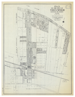Plan of Town of Tecumseh, County of Essex, Ontario