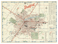 Map and street guide : Stratford, Ontario, Canada