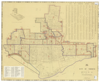 City of Toronto [annexation map]