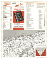 Handi-facts maps & street guide about Cobourg - Port Hope and District [front]