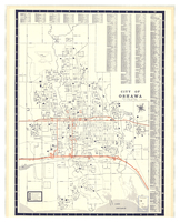 Map of Oshawa, Ontario : the go-ahead city [front]