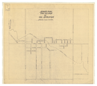 Street plan : the Village of Oil Springs