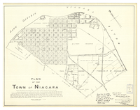 Plan of the Town of Niagara