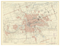 London military town plan [front]