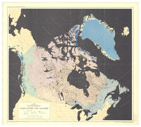 Lakes, rivers and glaciers [of Canada]