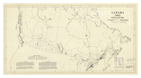 Canada 1961 population : percentage dot map = Canada 1961 population : carte de points procentuels