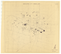 Unoccupied city owned lands