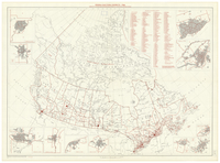 Federal electoral districts, 1966 [Canada] : pursuant to the Electoral Boundaries Readjustment Act for the 1961 decennial census