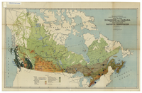 Map of the Dominion of Canada exclusive of northern regions, indicating main natural resources [1930]