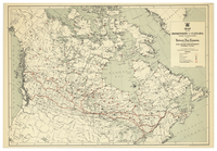 Map of the Dominion of Canada showing the establishments of the Hudson's Bay Company, incorporated 2nd May 1670 [1944]