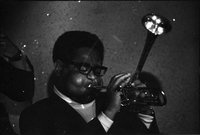 Dizzy Gillespie, American jazz trumpeter, in performance at the Colonial Tavern (Yonge Street)