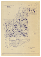 The Regional Municipality of York : land sales map 1968